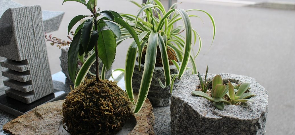 大島石 オリジナル小物 製作