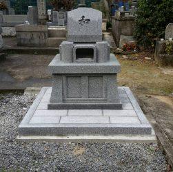 お墓の作成・施工も 石真堂